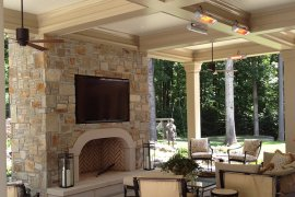 infrared heating systems - outdoor residential