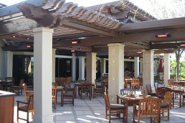 infrared heating systems - restaurants