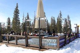 infrared heating systems - ski resort