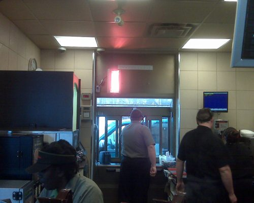 Drive Through Window Heaters