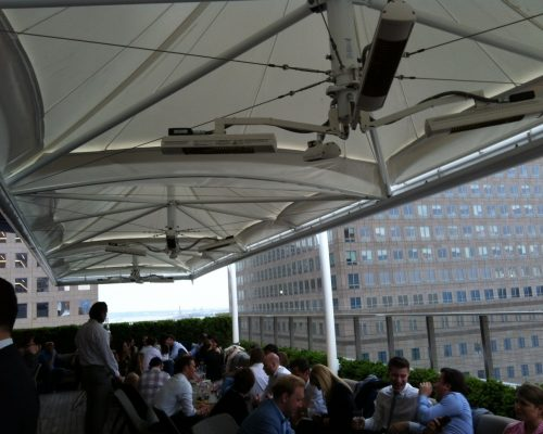 roof top patio heating