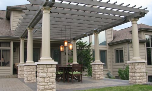 Solaira Alpha Pergola Michigan 2
