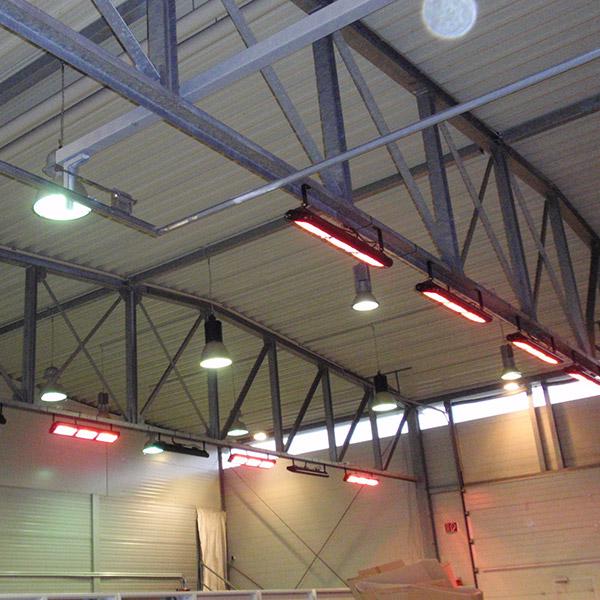 Warehouse heating