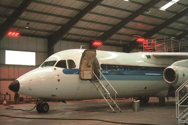 aircraft hanger heating
