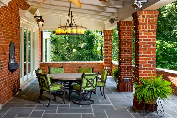 porch heating