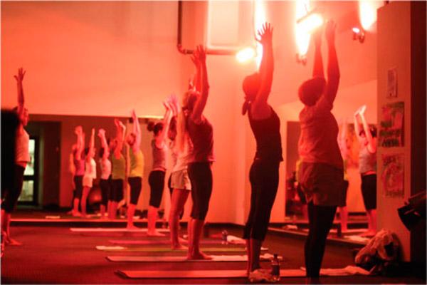 yoga heating
