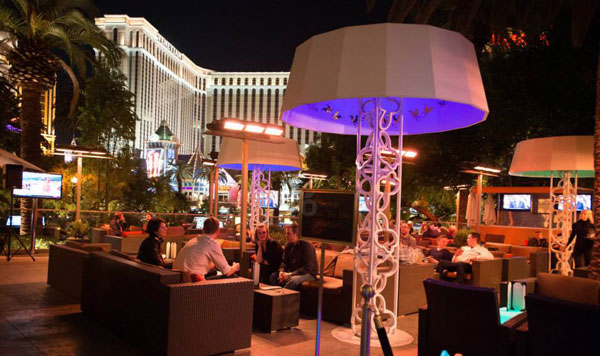 Cocktails On An Iconic Outdoor Las Vegas Patio Check Out The Rhumbar At Mirage For Cool & 70+ [ Commercial Lighting Supply Slc Utah Las Vegas Electrical Inc ... azcodes.com