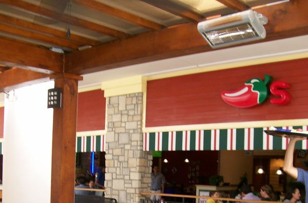 Solaira Commercial Outdoor Heater Chili S Restaurant