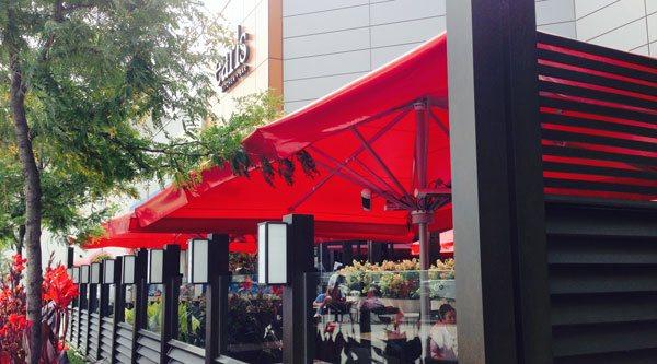 Solaira Commercial Outdoor Heater Under Umbrella Earlu0027s Restaurant ...
